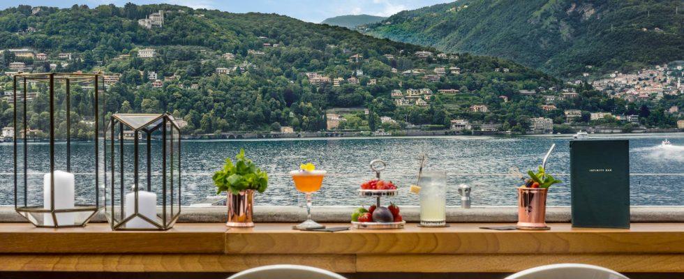 Mangiare in Hotel: Vista Palazzo Lago di Como