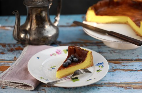 Käsekuchen: cheesecake tedesca