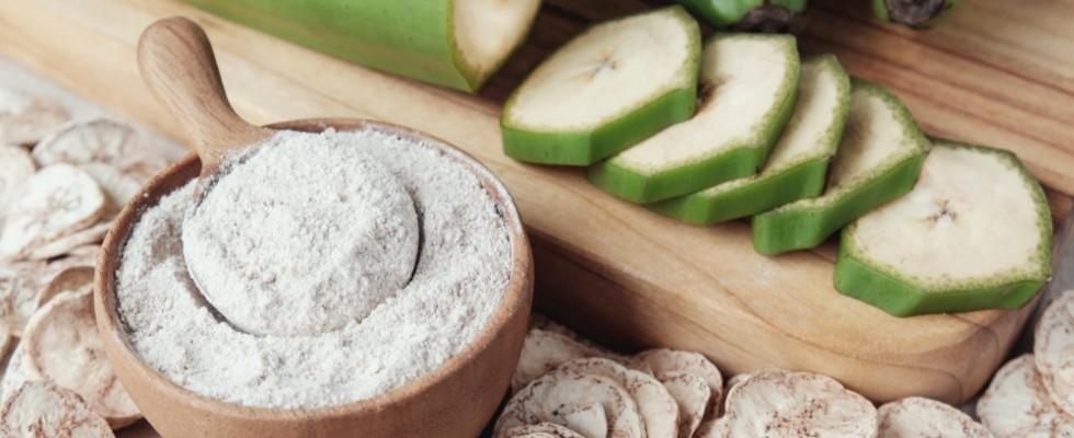 Un superfood per cucinare: farina di banane