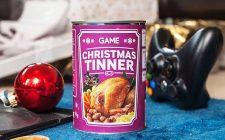 La cena di Natale si vende in lattina