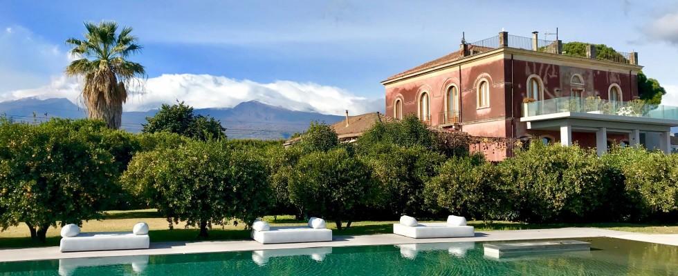 6 wine resort da provare per scoprire l'Etna e il suo vino