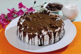 Meringata al cioccolato