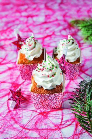 Muffin al panettone con mascarpone