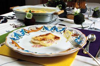 Tortino di patate e fontina