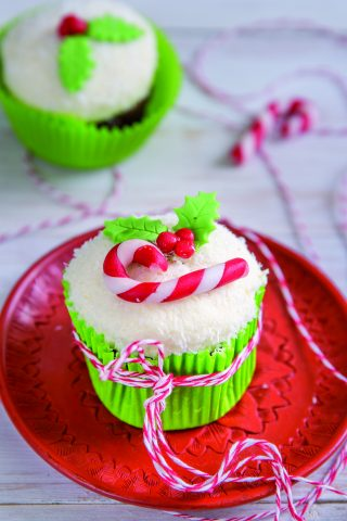 Cupcake Velvet di Natale: