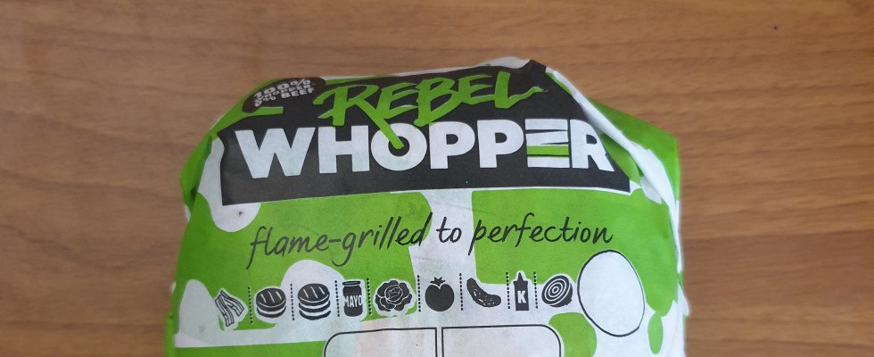 Mangiato da noi: Rebel Whopper di Burger King