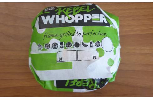 Mangiato da noi: Rebel Whopper di Burger King