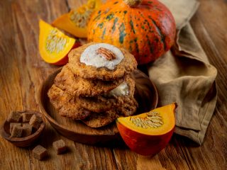 Biscotti zucca e noci: per l'inverno