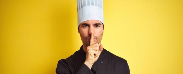 10 cose che gli chef non ti dicono