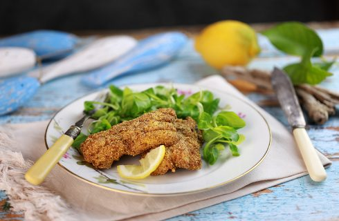 Pesce spatola fritto: croccantissimo