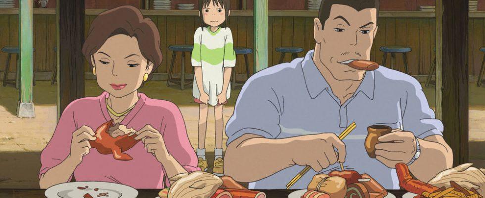 Il cibo nei cartoni animati del grande Miyazaki