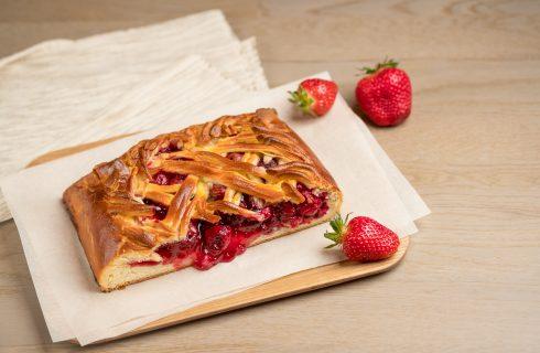 Strudel alle fragole: un dolce semplice per San Valentino