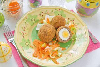 Uovo in polpetta, per l'antipasto