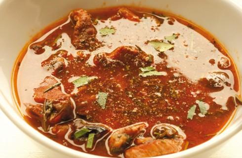Zuppa di maiale con olive al bimby
