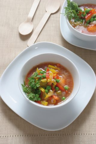 Zuppa di verdure light al bimby