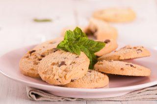 Biscotti menta e cioccolato