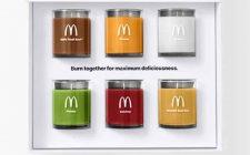 Le nuove candele al profumo di hamburger