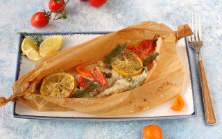 Cernia al cartoccio, sapore mediterraneo