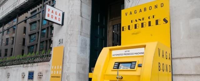 A Londra un distributore eroga prosecco