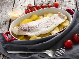 Filetto di merluzzo al limone con patate