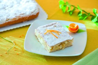 Pie di mele e yogurt
