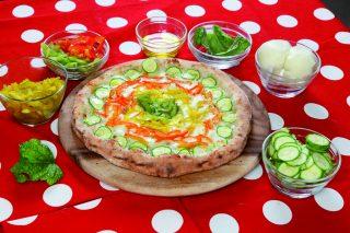 Pizza con verdure: leggera ma gustosa