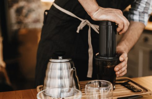 Strumenti per il caffè: cos'è l'Aeropress
