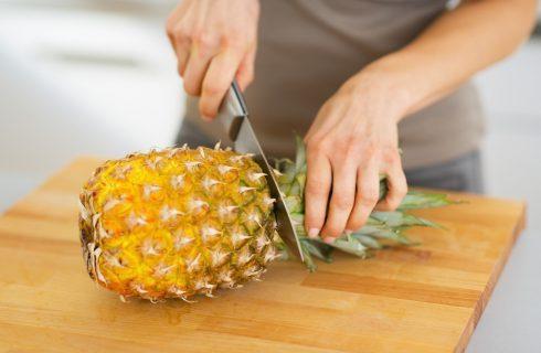 How to: 4 trucchi per tagliare l'ananas