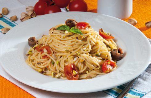 Spaghetti alle alici di Cetara