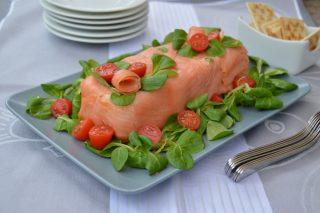 Terrina salmone e piselli al bimby