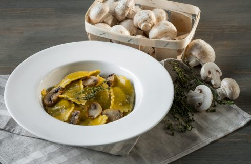 Tortelli ai funghi: perfetti per il pranzo