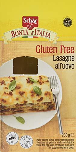 Lasagne all'uovo Schär senza glutine