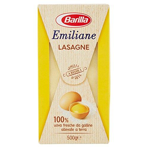 Lasagne emiliane Barilla all'uovo