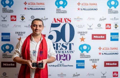 Asia's 50 Best 2020 a porte chiuse: Odette ancora primo