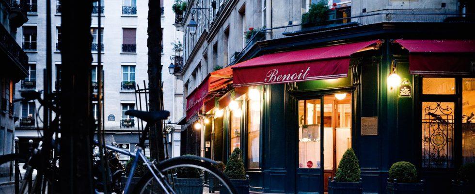 Benoit Paris, Parigi