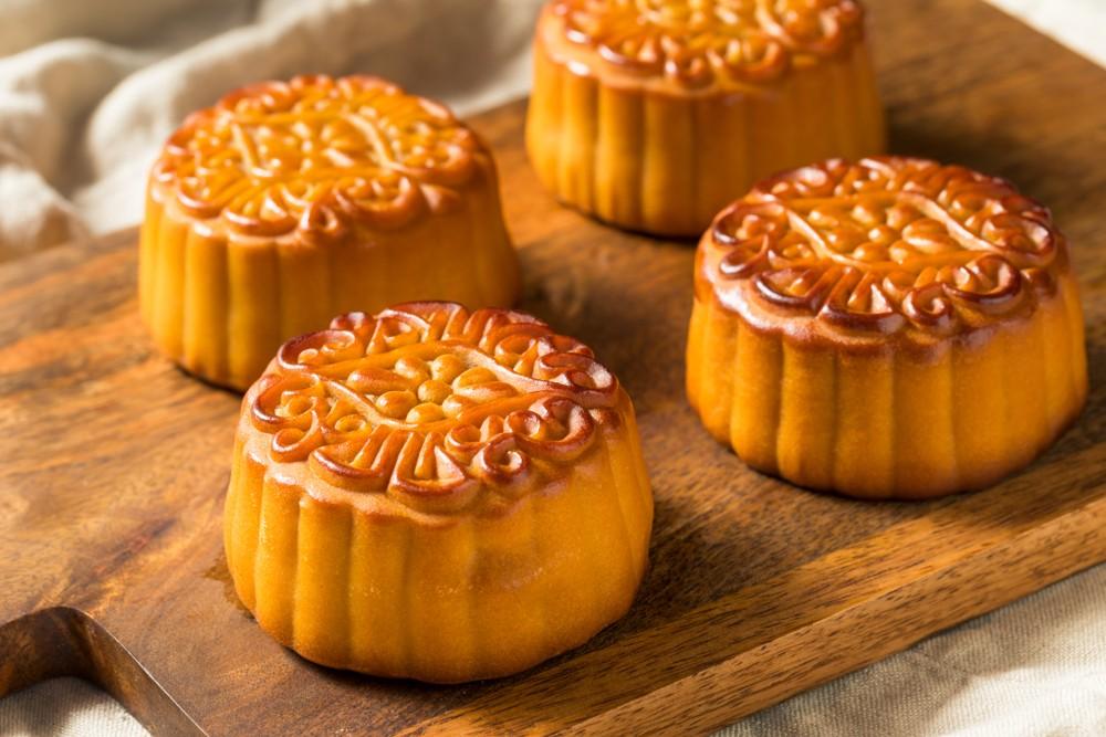 Mooncake autumn festival tsukimi china
