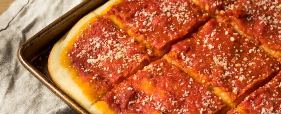 A Philadelphia la pizza si chiama Tomato Pie
