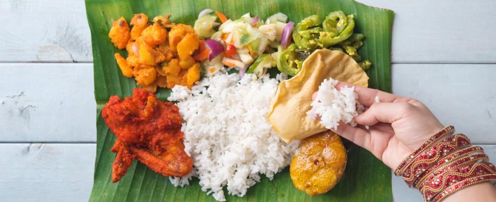 Cos'è il banana-leaf thali e perché potremmo innamorarcene