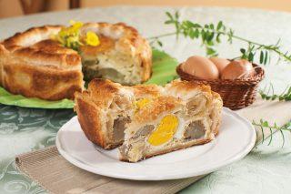 Torta salata carciofi e uova