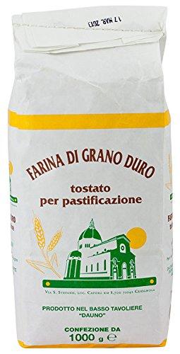 Farina di grano arso pugliese