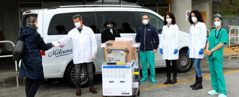 La raccolta fondi del pastificio La Molisana per aiutare i medici