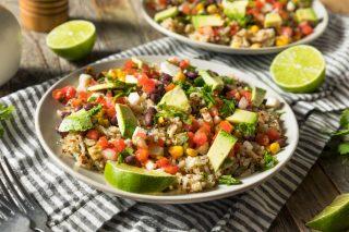Baja rice bowl: con pollo e avocado