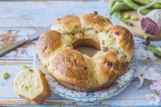 Brioche fave e salame: per il pranzo di Pasqua