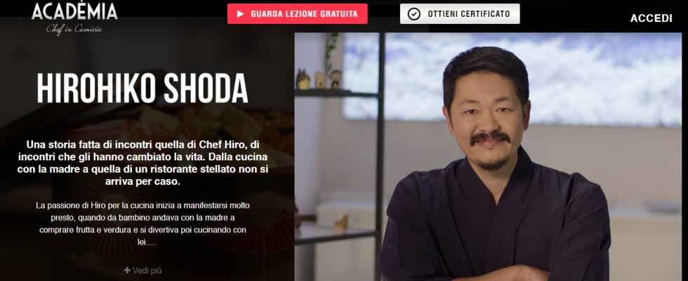 Acadèmia: imparare a cucinare online con i grandi chef