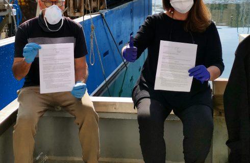 Donne di Mare, l'associazione per salvare i piccoli pescatori con il delivery