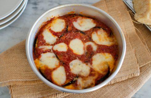 Parmigiana non fritta