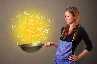 La matematica in cucina, per far ripassare i bambini (e gli adulti) divertendosi