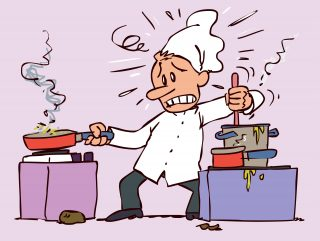 Il lavoro degli chef è tra i più stressanti e usuranti, lo conferma uno studio