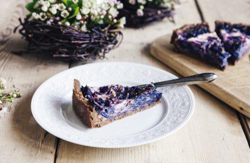 Torta salata integrale con cavolo nero al bimby