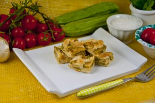 Torta saporita al caciocavallo